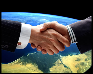 business to business web sites shaking hands image